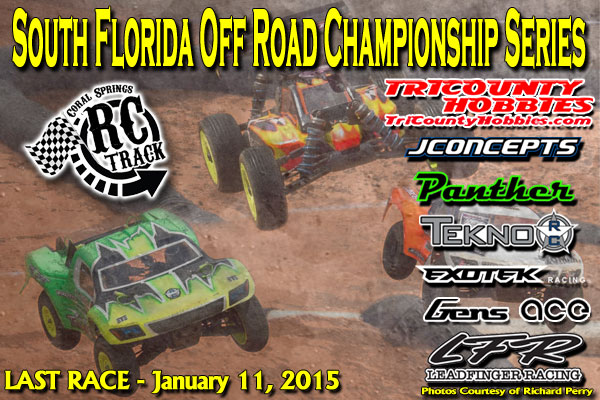 Coral Springs South Florida Off Road Championship Series Coral Springs RC Track SFORCSLAST010214